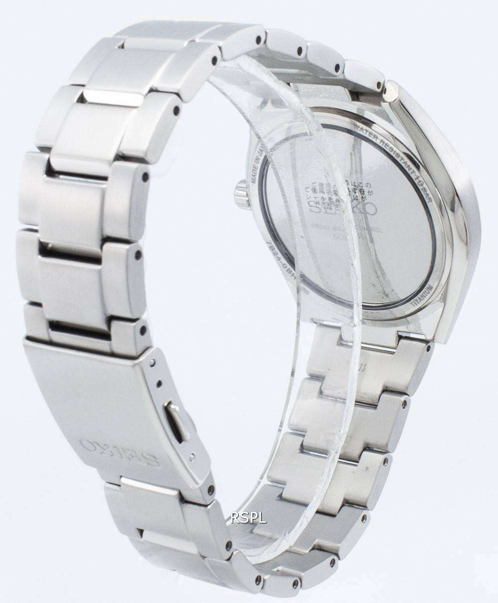 quality design cb6e0 d835c Seiko Brightz SAGZ08 SAGZ083 SAGZ0 Radio Wave Control Solar Men's Watch