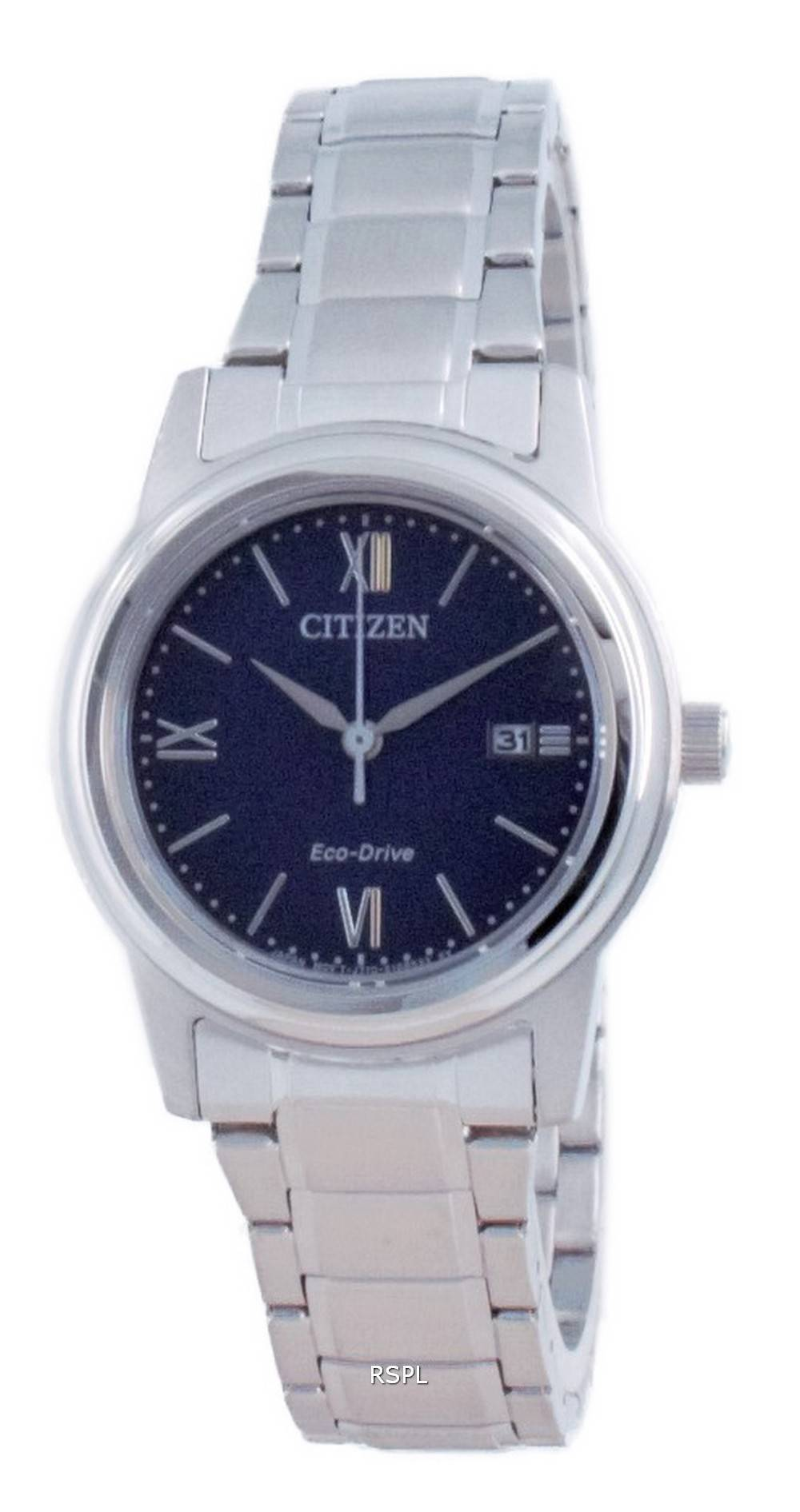 Citizen Classic Blue Dial Stainless Steel Eco-Drive FE1220-89L 100M Women's Watch